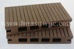 Le pontage de la Chaussée de bois/Bois extérieur WPC Decking composites en plastique