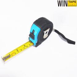 Nastro di misurazione in acciaio lungo stampato tascabile con logo per misurazioni e. Architettura con certificazione professionale