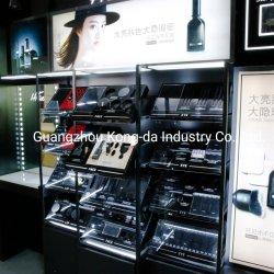 Contatore cosmetico di legno della visualizzazione per il disegno cosmetico del contatore del negozio