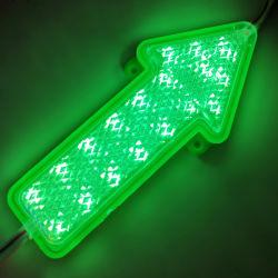 Flèche de signalisation à LED SMD 2835 Module Flash RVB d'injection étanche IP65 Module LED indicateur de la signalisation extérieure