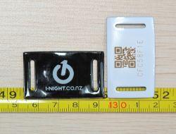 Einmaliger RFID NFC Wristband mit RFID ATC-Sender-Empfänger