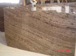 China Pulido mármol natural 1cm/1,5cm/2cm/3cm Thcikness losa de mármol marrón Café mosaico/