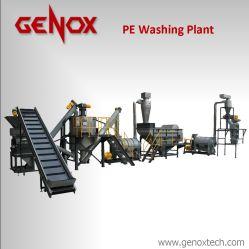Des bouteilles en plastique PP haute capacité de machine à laver/Ligne de lavage en plastique
