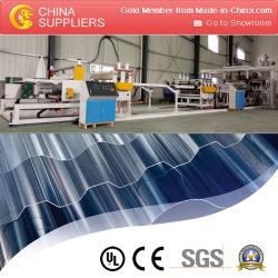 خط إنتاج الورق المموج المصنوع من مادة PVC البلاستيكية