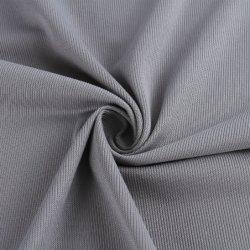 CVC de malhas de poliéster algodão 66/34 130gsm, penteadas P/D T-shirt tecido tecido/Costela