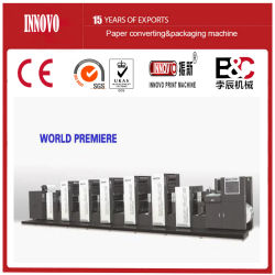 Offset rotativo Shaftless intermitente de la máquina de impresión de etiquetas