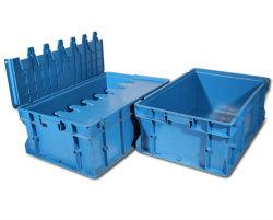 Alta qualità che trasporta il contenitore di memoria di plastica per il commercio all'ingrosso