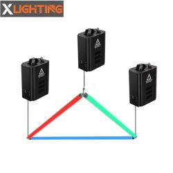 Equipamento de DJ DMX Guincho Triângulo das luzes de LED RGB de cinética de tubo de pixel para a fase mostrar