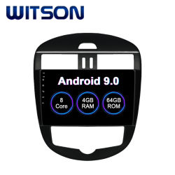 Witson Octa-Core Android Market 9.0 GPS Car Leitor de DVD para 2011-2015 TIIDA NISSAN Versão Air-Conditioner Automático