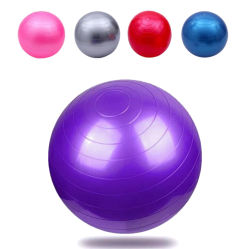 Sfera di esercitazione di burst della sfera 55-75cm di yoga anti per ginnastica domestica dell'equilibrio
