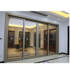 OEMは評価された外部の火をカスタマイズし使用されたアルミニウム商業ドアを滑らせる