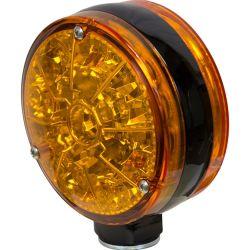 Allis Чалмерс/John Deere светодиод кнопки Двусторонняя мигает лампа фары - желтый