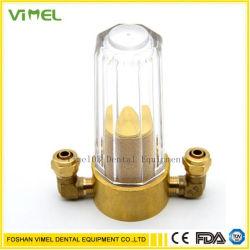 Zahnmedizinisches Wasser-Filter-Fassbinder-Ventil für zahnmedizinisches Stuhl-Zusatzgerät