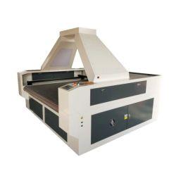 1610 Les chefs d'alimentation automatique automatique double textile, cuir, tissu, tissu d'accueil du vêtement Machine de découpe laser avec une caméra CCD
