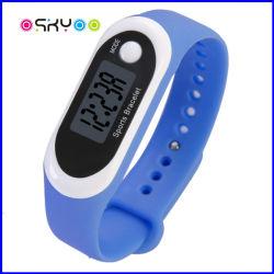 Firmenzeichen-Pedometer-Kalorie-Kostenzähler-Armbanduhr anpassen