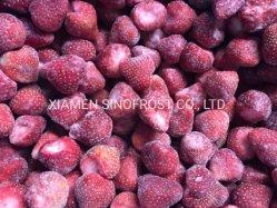 De zoete Aardbeien van Charlie Variety IQF, IQF Gehele Aardbeien, IQF Gedobbelde Aardbeien, IQF Gesneden Aardbeien, de Helften van Aardbeien IQF, de Bevroren Puree van de Aardbei
