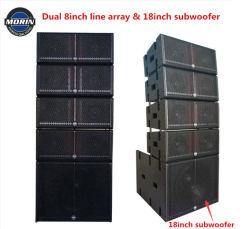 Caixa de coluna de som profissional de som passiva sistema de coluna linear LA-208