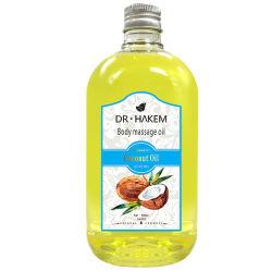 Huid die de Olie van de Massage van de Olie van de Basis van de Essentiële Olie van de Kokosnoot wit