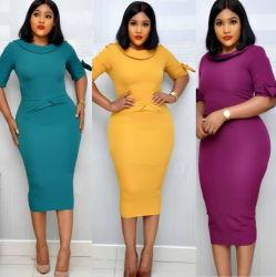 Плюс размер партии платье элегантный партии платье Дамы платье