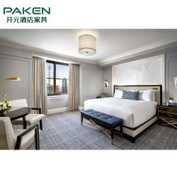 Nach Maß moderne Stern-Hotel-Suite-Gasthaus-Schlafzimmer-Möbel