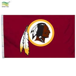 Polyester Washington Redskins Équipe de football américain NFL 3X5' Flag