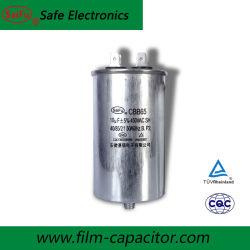 Condensateurs à film d'alimentation CBB65 10UF 450V type de câblage condensateur de démarrage du moteur
