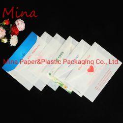 Escritório de suprimentos de apresentação do documento de plástico PP Envelope OEM de transporte de pasta de arquivo Saco com fecho de Travamento