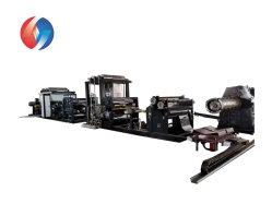 أفضل تأهيل آلة الترقق الجافة عالية السرعة للفيلم البلاستيكي رقاقة معدنية من الألومنيوم