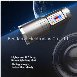 Usine de gros de matériel de pêche torche LED lampe de poche