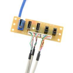 耐圧防爆USB 3.0のコンピュータの箱組み込みワイヤーケーブル