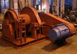 Amarração hidráulico do equipamento do convés do navio do Guincho