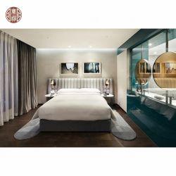 Personalizar el metal moderno hotel de estilo nórdico los muebles del dormitorio para Hotel