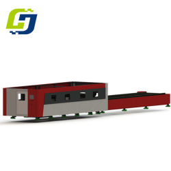 machine de découpage au laser à filtre par système de chargement automatique pour le traitement de la plaque de tôle métallique