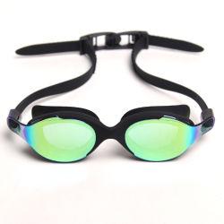 Occhiali di protezione di sicurezza protettivi di nuoto di nuotata degli occhiali di protezione del progettista di vetro su ordinazione di nuotata