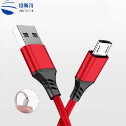 1m Kabel van de Lader USB van de Gegevens van de Bliksem van de Draad de Universele voor Telefoon/iPad/MP4/iPhone