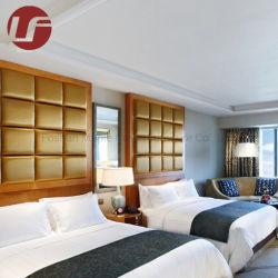 Polsterung-mit hoher Schreibdichteschaumgummi mit PUledernem Headboard für Hotel