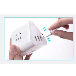 Moule à injection de plastique Convertisseur avec adaptateur prise USB Plugboard/logement/Carte de jonction/Towboard 3Interface USB+3 trou combiné sans fil de l'interrupteur de commande principal