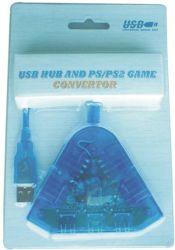 Psx PS2 концентратор USB 2.0 и Joypad преобразователь тока (PL-638)