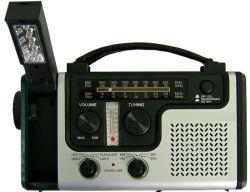 Générateur solaire avec la radio et à l'aide d'urgence Fashlight