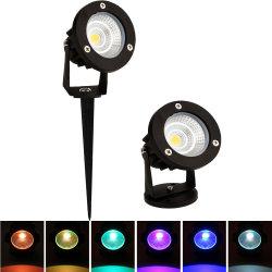 LED كوب Lawn مصباح LED سبيك لايت في الهواء الطلق الممر حديقة إنارة طبيعية للفناء مصابيح 5W 7 واط 9W RGB مقاومة للماء 265V 12 فولت