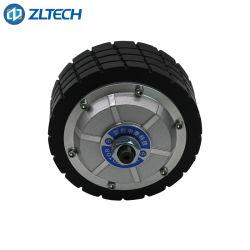 Zltech 4.5inch 300rpm 150kgロード6n。 M 24V移動ロボットのためのブラシレスDC Agvのディレクト・ドライブの車輪ハブのサーボモーター