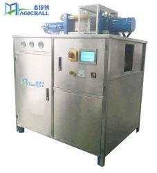 Maker Gelo Seco Cube Bloquear a máquina de venda quente 2018 Efeito estágio de limpeza da máquina do equipamento