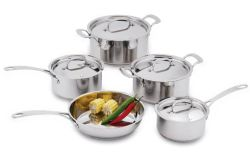 9pcs ustensiles de cuisine en acier inoxydable Set (6016)