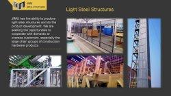 Легких стальных структура платформы хранения данных сварки продукт