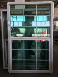 Hochwertige neueste UPVC Single Hung Glasfenster