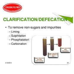 Sumo de Cana de poliacrilamida aniónicos clarificação de fábrica
