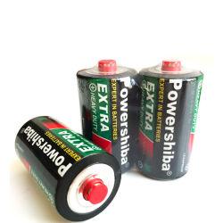 Sin mercurio/no recargable de larga duración/agregado/1,5V/R20/tamaño D/Umi/carbono zinc/alta resistencia/primaria /pila seca Batería para el Control de juguetes/CÁMARA/Linterna/Reloj