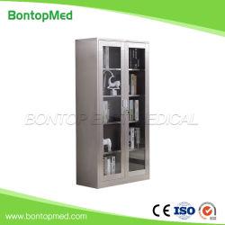 Krankenhaus Edelstahl Instrument Cabinet Lagerung Metall Medizin Schrank Medical Schrank Aktenschrank OEM