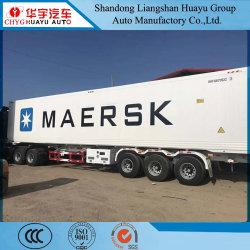 3 as 40 FT gekoelde container Transport Chassis/Skeleton Semi Trailer met Dieselgenerator