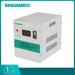مثبت الفولطية التلقائي لجهد الفولتية العالية لمكيف الهواء 220 فولت منظم منظم الجهد التلقائي لموتور قدرة 5كيلوفولت أمبير Servo
